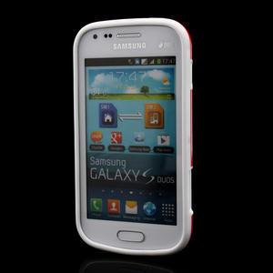 Plastogélové puzdro na Samsung Galaxy Trend, Duos- červené - 2