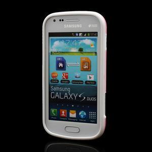 Plastogélové puzdro pre Samsung Galaxy Trend, Duos- ružové - 2
