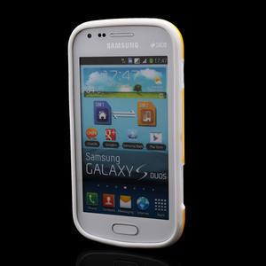 Plastogélové puzdro pre Samsung Galaxy Trend, Duos- žlté - 2
