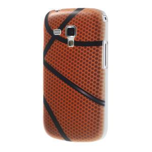 Plastové puzdro na Samsung Trend plus, S duos - basketbal - 2