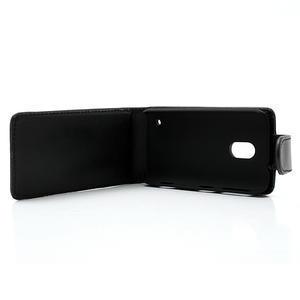 Flipové puzdro na Nokia Lumia 620- čierné - 2