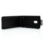 Flipové puzdro na Nokia Lumia 620- čierné - 2/6