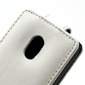 Flipové puzdro na Nokia Lumia 620- biele - 2