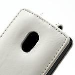 Flipové puzdro na Nokia Lumia 620- biele - 2/5