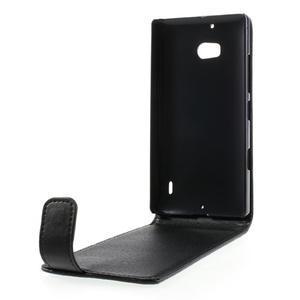 Flipové puzdro na Nokia Lumia 929/930 - čierné - 2