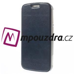 Flipové puzdro na Samsung Galaxy K zoom C115 - modré - 2