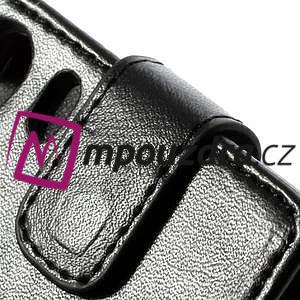 Flipové pouzdro na Sony Xperia Z1 C6903 - černé - 2