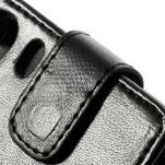 Flipové pouzdro na Sony Xperia Z1 C6903 - černé - 2/5