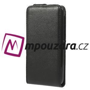 Flipové Cover kožené puzdro pre HTC Desire 310- čierné - 2