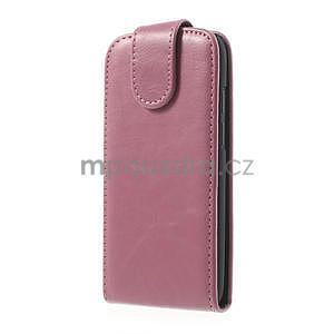 Flipové puzdro pre HTC Desire 601- růžové - 2