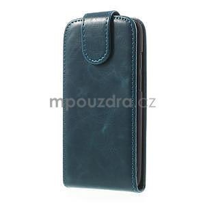 Flipové puzdro pre HTC Desire 601- modré - 2