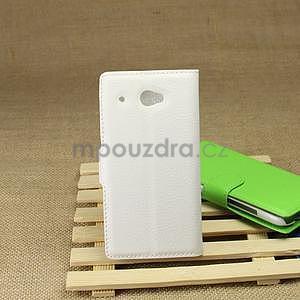 Peňaženkové puzdro pre HTC Desire 601- biele - 2