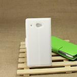 Peňaženkové puzdro pre HTC Desire 601- biele - 2/7