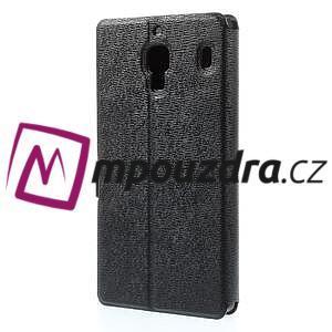 Peňaženkové  puzdro na Xiaomi Hongmi Red Rice- čierné - 2