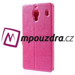 Peňaženkové puzdro na Xiaomi Hongmi Red Rice- růžové - 2