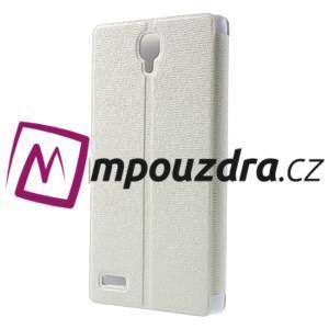 Peňaženkové puzdro na Xiaomi Hongmi Note- biele - 2