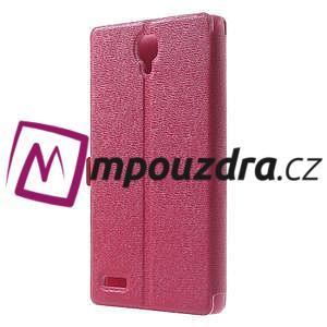 Peňaženkové puzdro na Xiaomi Hongmi Note- růžové - 2