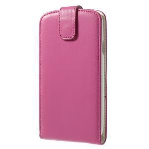 Flipové pozdro pre Samsung Galaxy S3 i9300 - ružová - 2