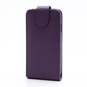 Flipové puzdro pro Samsung Galaxy S4 i9500-fialové - 2