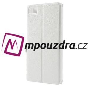Peňaženkové puzdro na Xiaomi Mi3- biele - 2