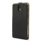 Flipové kožené puzdro pre Samsung Galaxy Note 3- čierné - 2/7