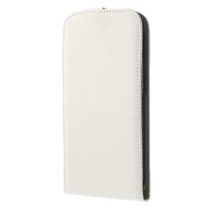 Flipové puzdro pre HTC one M8- biele - 2