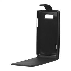 Flipové puzdro na LG Optimus L7 P700 - čierné - 2