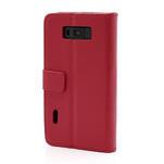 Peňaženkové puzdro na LG Optimus L7 P700 - červené - 2/7