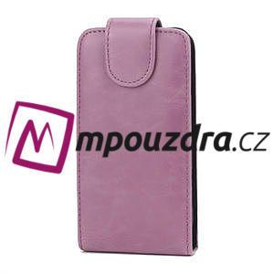 Flipové puzdro pre Samsung Trend plus, S duos -růžové - 2