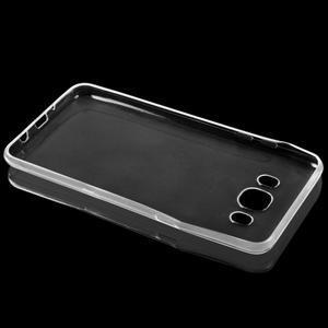 Transparentný ultratenký 0.75 mm gélový obal pre Samsung Galaxy J5 (2016) - 2