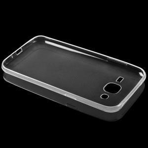 Transparentní ultratenký 0.75 mm gelový obal na Huawei P9 Lite - 2