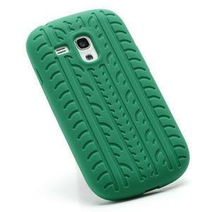 Silikonové PNEU pro Samsung Galaxy S3 mini i8190- zelené - 2