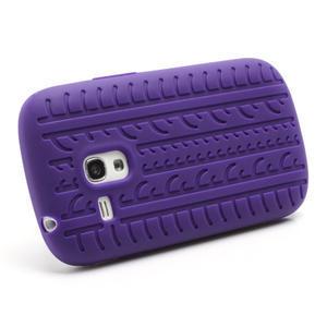 Silikonové PNEU pro Samsung Galaxy S3 mini i8190- fialové - 2