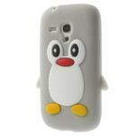 Silikonový TUČŃÁK puzdro na Samsung Galaxy S3 mini i8190- šedý - 2/7