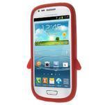 Silikonový TUČŃÁK puzdro na Samsung Galaxy S3 mini i8190- červený - 2/7