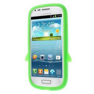 Silikonový TUČŃÁK puzdro na Samsung Galaxy S3 mini i8190- zelený - 2