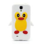 Silikonový Tučňák pouzdro pro Samsung Galaxy S4 i9500- bílý - 2/6