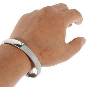 Multifunkční náramek micro USB, šedý - 2