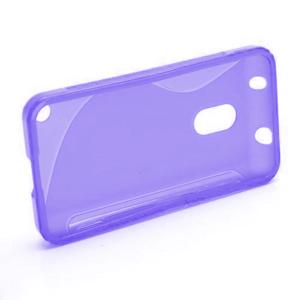 Gélové S-line puzdro na Nokia Lumia 620- fialové - 2