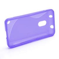 Gélové S-line puzdro na Nokia Lumia 620- fialové - 2/5