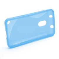 Gélové S-line puzdro na Nokia Lumia 620- modré - 2/5