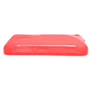 Gélové S-line puzdro na Nokia Lumia 620- červené - 2