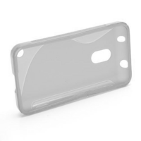 Gélové S-line puzdro na Nokia Lumia 620- transparentný - 2/5