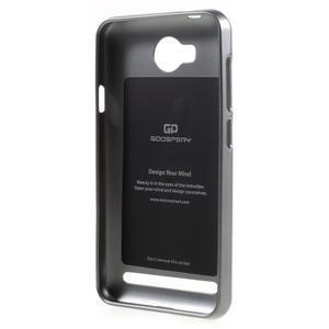 Luxusní gélový obal na mobil Huawei Y3 II - šedá - 2