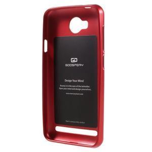 Luxusní gélový obal na mobil Huawei Y3 II - červený - 2