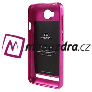 Luxusní gelový obal na mobil Huawei Y3 II - rose - 2