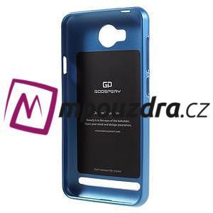 Luxusní gélový obal na mobil Huawei Y3 II - modrý - 2