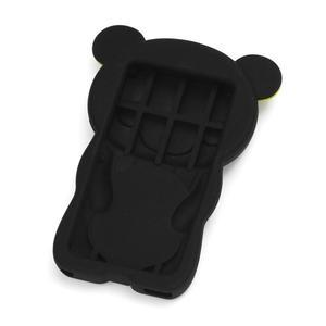 Bear silikónový obal pre iPod Nano 7 - čierny - 2