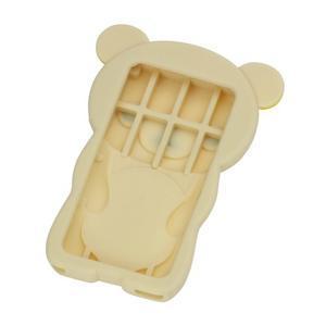 Bear silikónový obal na iPod Nano 7 - béžový - 2