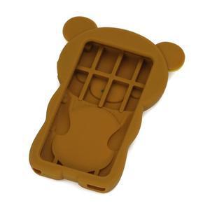 Bear silikónový obal pre iPod Nano 7 - hnedý - 2